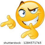 Emoticon Giving Two Thumbs Up...