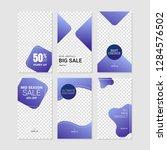 editable commercial instagram... | Shutterstock .eps vector #1284576502