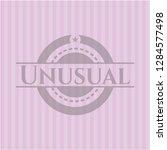 unusual retro style pink emblem | Shutterstock .eps vector #1284577498