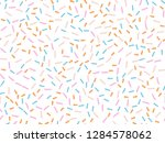 colorful abstract confetti...   Shutterstock .eps vector #1284578062