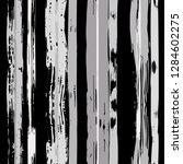 vector hand drawn paint stripe... | Shutterstock .eps vector #1284602275