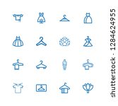 editable 16 boutique icons for... | Shutterstock .eps vector #1284624955