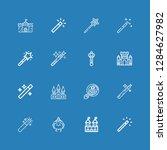 editable 16 fairytale icons for ...   Shutterstock .eps vector #1284627982