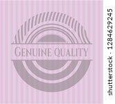 genuine quality vintage pink... | Shutterstock .eps vector #1284629245