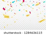 white background with colorful... | Shutterstock .eps vector #1284636115