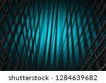 illustration turquoise digital... | Shutterstock . vector #1284639682