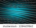 illustration turquoise digital... | Shutterstock . vector #1284639862