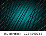 illustration turquoise digital... | Shutterstock . vector #1284640168
