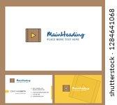 video  logo design with tagline ...
