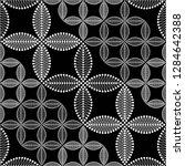 seamless black and white... | Shutterstock .eps vector #1284642388