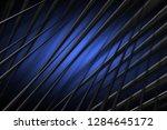 illustration blue digital... | Shutterstock . vector #1284645172