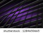 illustration purple digital... | Shutterstock . vector #1284650665