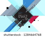 abstract geometric background ... | Shutterstock .eps vector #1284664768