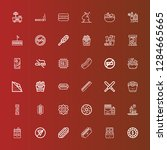editable 36 unhealthy icons for ...   Shutterstock .eps vector #1284665665