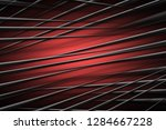 illustration red digital energy ... | Shutterstock . vector #1284667228