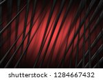 illustration red digital energy ... | Shutterstock . vector #1284667432