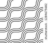 design seamless monochrome...   Shutterstock .eps vector #1284675682