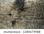 old reclaimed knotty wood piece ... | Shutterstock . vector #1284675988