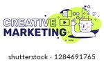 vector illustration of creative ... | Shutterstock .eps vector #1284691765