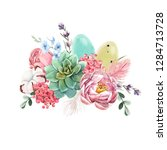 Watercolor Spring Floral Print...