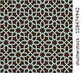 ornamental seamless pattern. | Shutterstock . vector #128474942