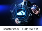 backup software application... | Shutterstock . vector #1284759445