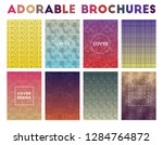adorable brochures. admirable... | Shutterstock .eps vector #1284764872