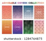 admirable covers collection.... | Shutterstock .eps vector #1284764875