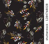 botanical motifs. isolated...   Shutterstock .eps vector #1284768028