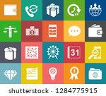 business and office icons ... | Shutterstock .eps vector #1284775915