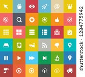 web design icons  graphic... | Shutterstock .eps vector #1284775942