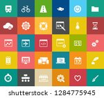 web design icons  graphic... | Shutterstock .eps vector #1284775945