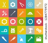 repair tools icons set  ... | Shutterstock .eps vector #1284775972