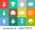 vegetables icons in set... | Shutterstock .eps vector #1284775975