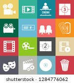 movies vector illustration icon ... | Shutterstock .eps vector #1284776062
