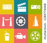 movies vector illustration icon ... | Shutterstock .eps vector #1284776068