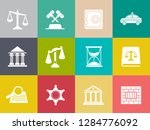 vector collection or set of law ... | Shutterstock .eps vector #1284776092