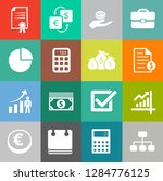investment icons  business... | Shutterstock .eps vector #1284776125