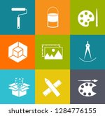 web design icons  graphic... | Shutterstock .eps vector #1284776155