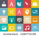 web design icons  graphic... | Shutterstock .eps vector #1284776158