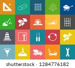 construction icons set ... | Shutterstock .eps vector #1284776182