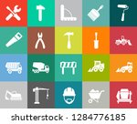 construction icons set ...