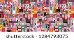 large pop art vector design...   Shutterstock .eps vector #1284793075