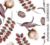 seamless watercolor pattern....   Shutterstock . vector #1284800158