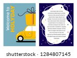 vector creative holiday... | Shutterstock .eps vector #1284807145