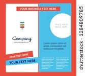 network company brochure... | Shutterstock .eps vector #1284809785