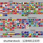 all flags of the world. sort by ...   Shutterstock .eps vector #1284812335