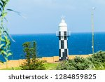 Lighthouse Beacon Black And...