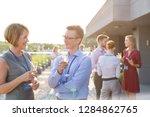businessman have an...   Shutterstock . vector #1284862765