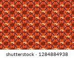 summer vintage floral greeting...   Shutterstock . vector #1284884938
